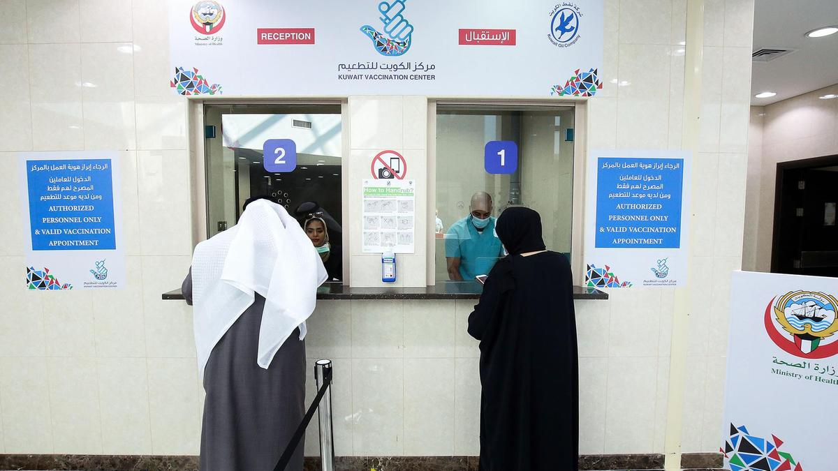 No entry ban for Kuwait diplomats, health workers