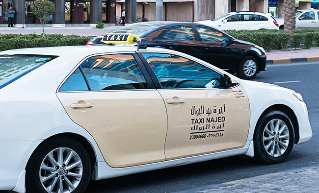 taxi fares in Kuwait