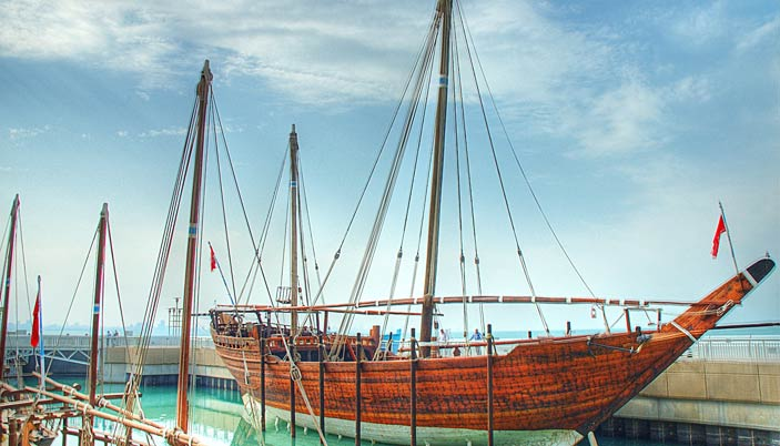 dhows in kuwait
